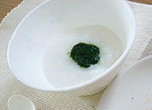 小松菜のおかゆ